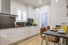 cuisine d'appartement familial près de la Sagrada Familia