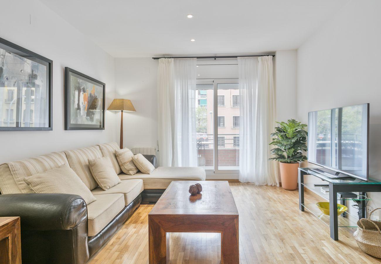salone di un appartamento familiare vicino alla Sagrada Familia