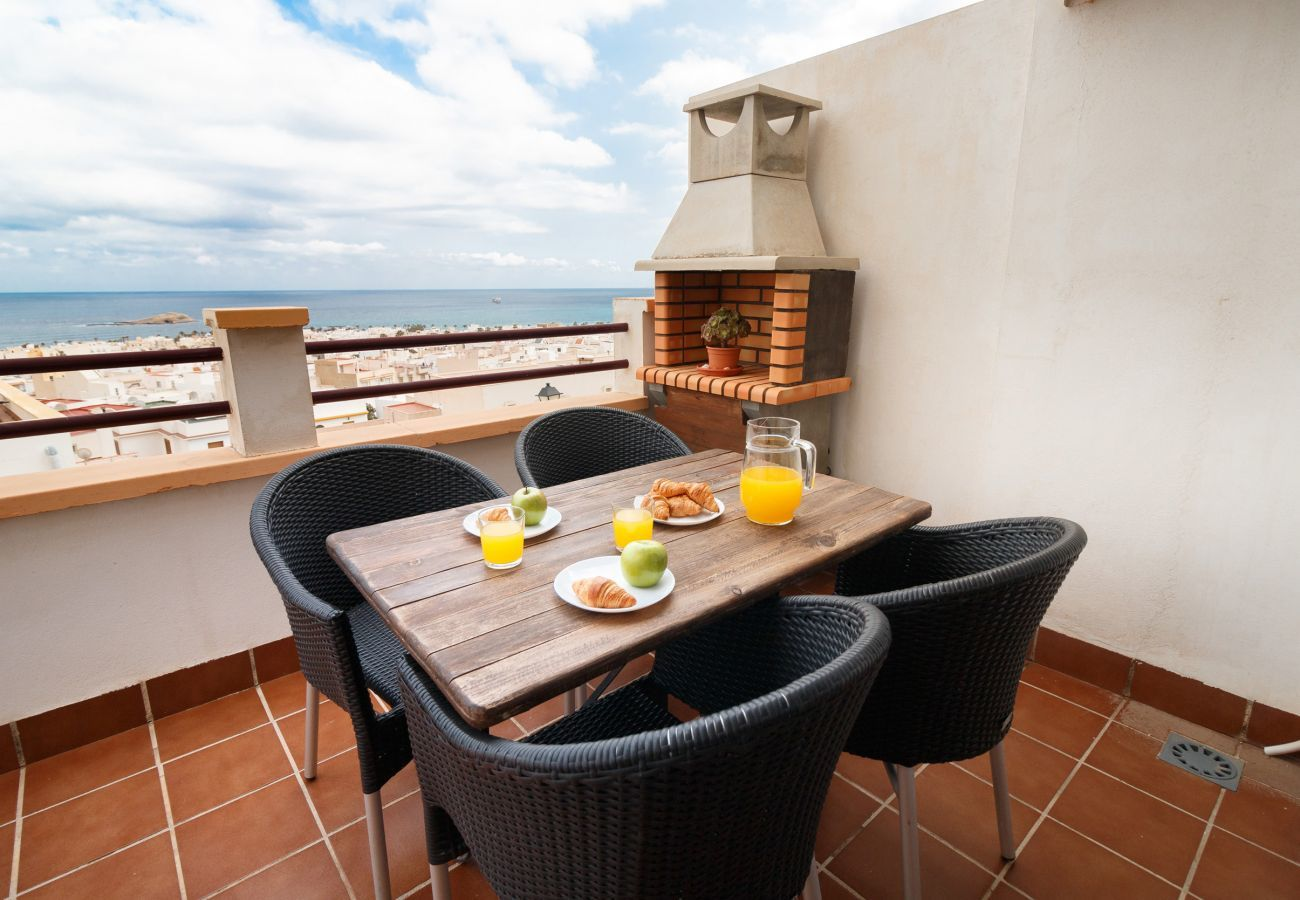 comfy terrace with barbecue
